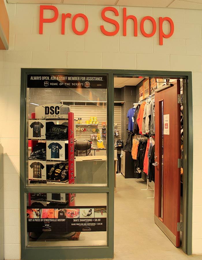 Pro Shop entrance